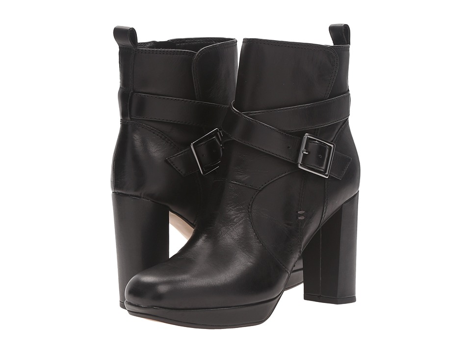 Clarks - Gabriel Mix (Black Leather) Women's Pull-on Boots
