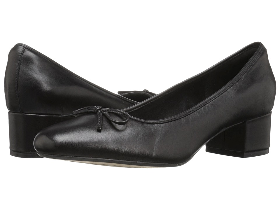 Clarks - Cala Lucky (Black Leather) Women's Shoes