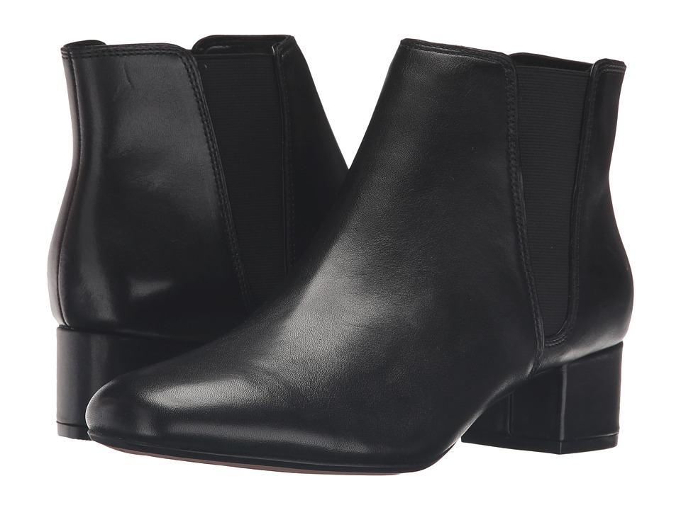 Clarks - Cala Jean (Black Leather) Women's Boots