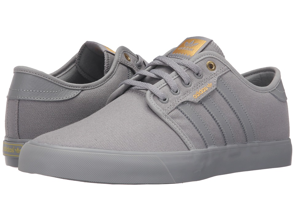 adidas Skateboarding - Seeley (Solid Grey/Solid Grey/Solid Grey) Men's Skate Shoes