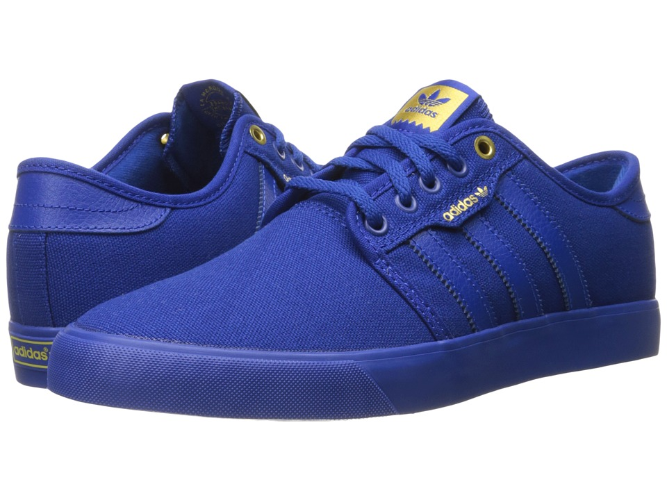 adidas Skateboarding - Seeley (Collegiate Royal/Collegiate Royal/Collegiate Royal) Men's Skate Shoes