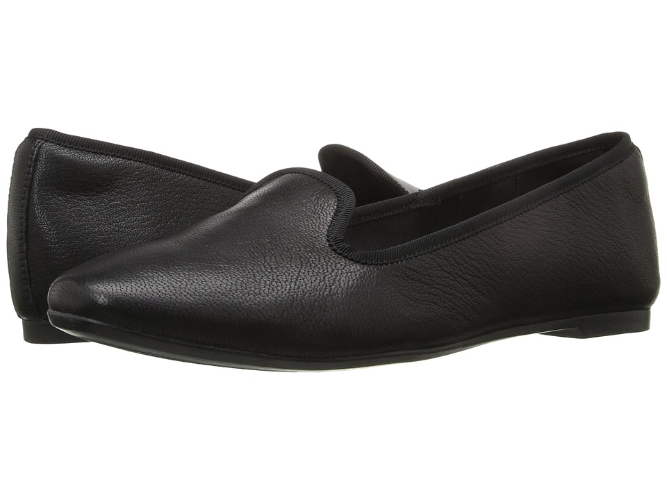 Clarks - Chia Milly (Black Leather) Women's Slip on Shoes