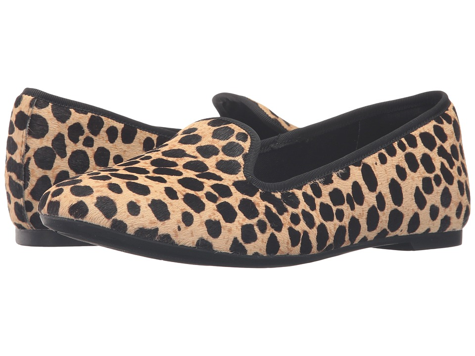 Clarks - Chia Milly (Leopard Print) Women's Slip on Shoes