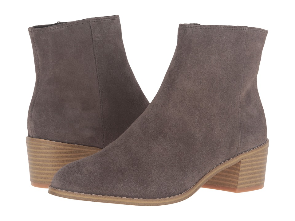 Clarks - Breccan Myth (Khaki Suede) Women's Pull-on Boots