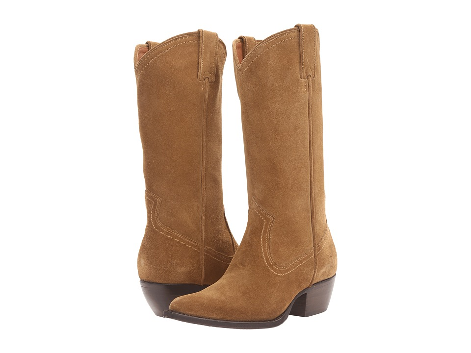 Frye - Sacha Tall (Cashew Oiled Suede) Women's Boots