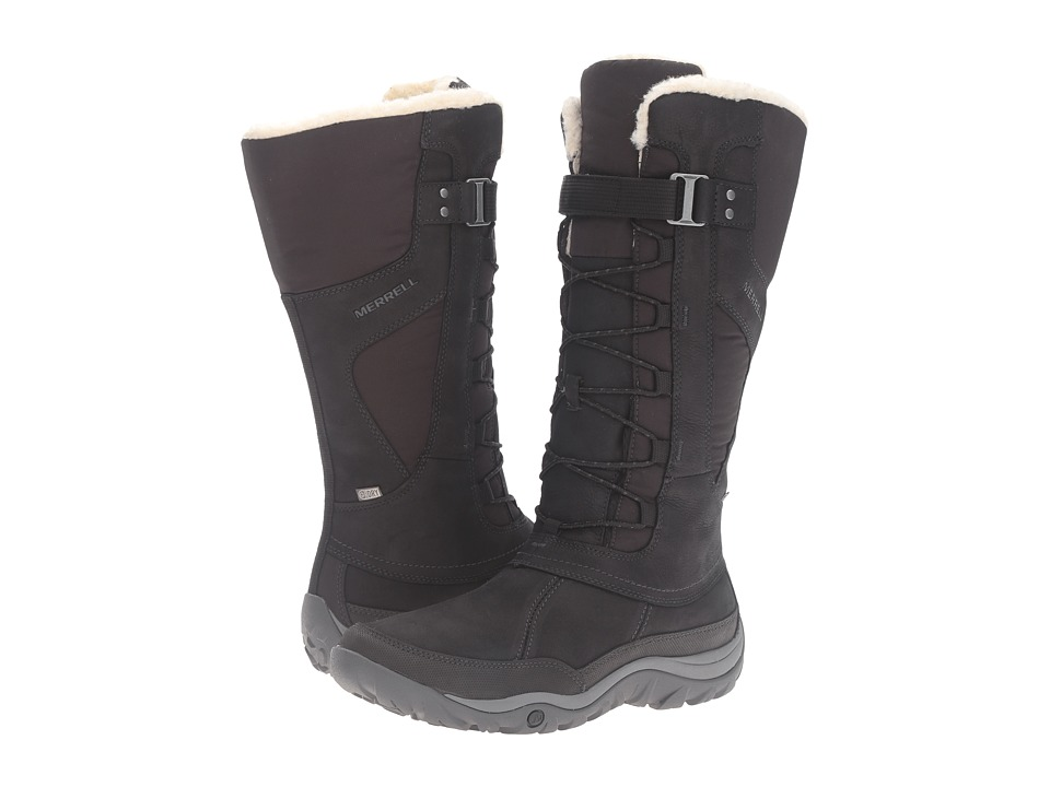 Merrell Murren Tall Waterproof (Black) Women