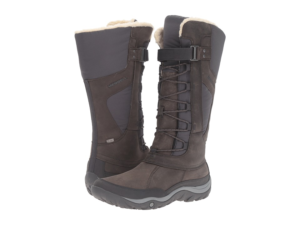 Merrell - Murren Tall Waterproof (Pewter) Women's Boots