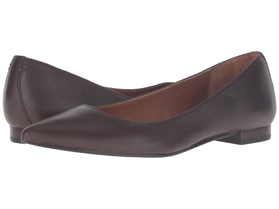 Frye Sienna Ballet (Chocolate Soft Full Grain) Women