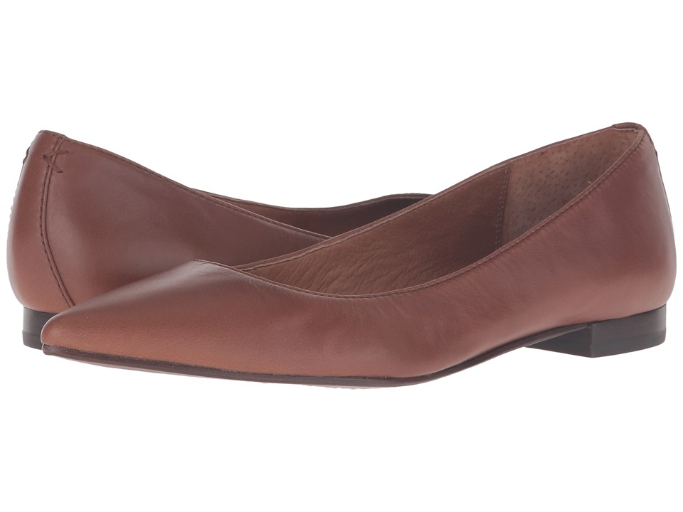 Frye Sienna Ballet (Wood Soft Full Grain) Women