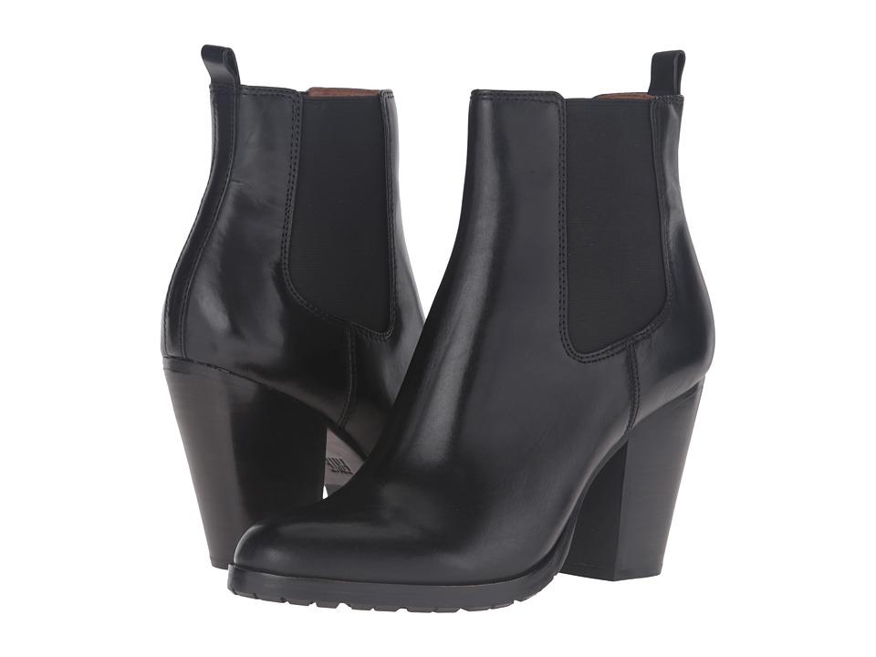 Frye - Tate Chelsea (Black Smooth Veg Calf) Women's Boots