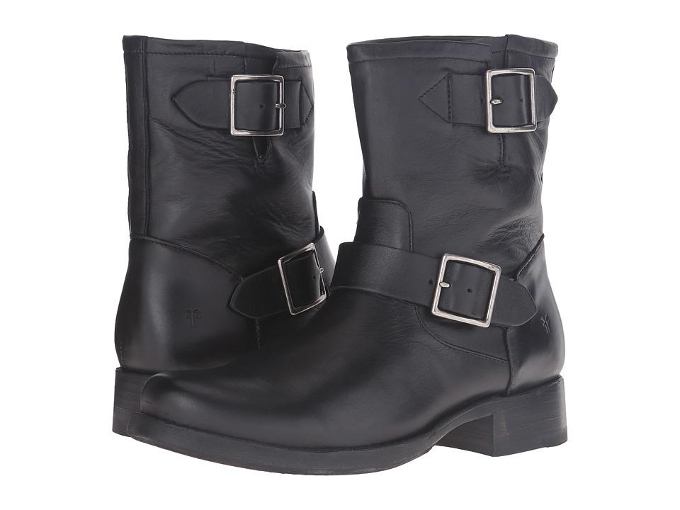 Frye - Vicky Engineer (Black Soft Full Grain) Women's Boots
