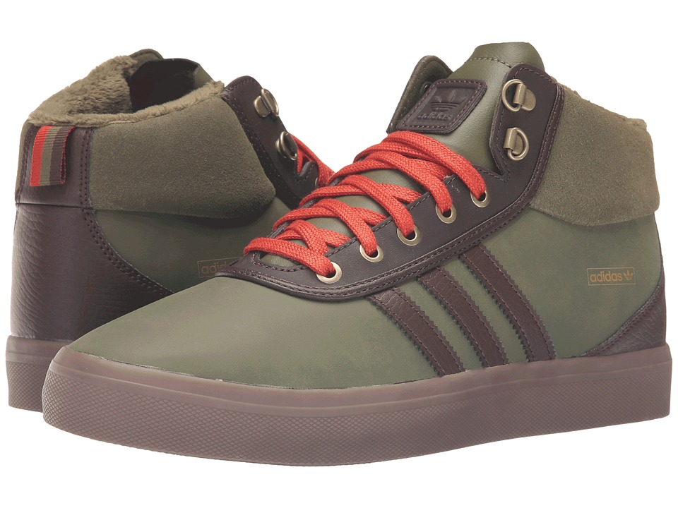 adidas Skateboarding - Adi-Trek (Olive Cargo/Brown/Craft Chili) Men's Skate Shoes