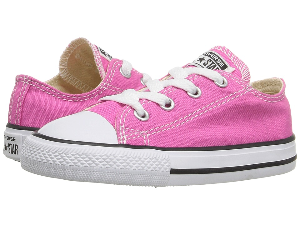 Converse Kids - Chuck Taylor All Star Seasonal Ox (Infant/Toddler) (Mod Pink) Girl's Shoes