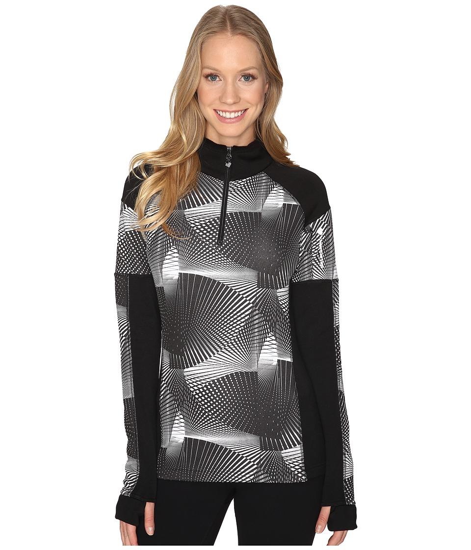Obermeyer - Nova Elite 150wt Zip Top (Optic) Women's Clothing