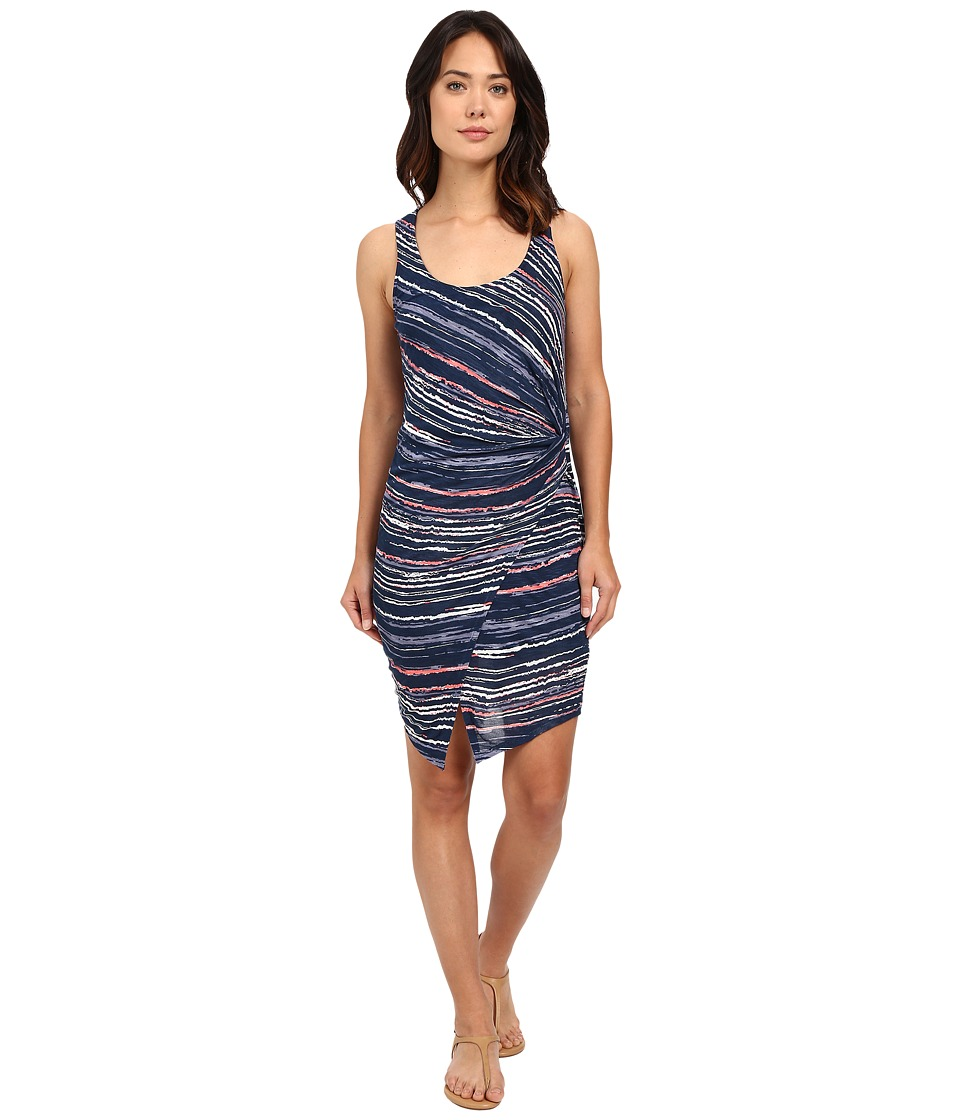 Splendid - Sandstone Print Dress (Navy Multi) Women's Dress