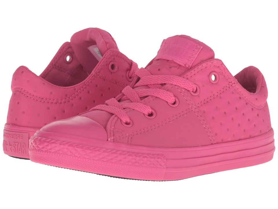 Converse Kids - Chuck Taylor All Star Madison Ox (Little Kid/Big Kid) (Vivid Pink/Vivid Pink/Vivid Pink) Girls Shoes