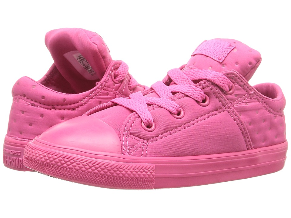 Converse Kids Chuck Taylor All Star Madison Ox (Infant/Toddler) (Vivid Pink/Vivid Pink/Vivid Pink) Girl