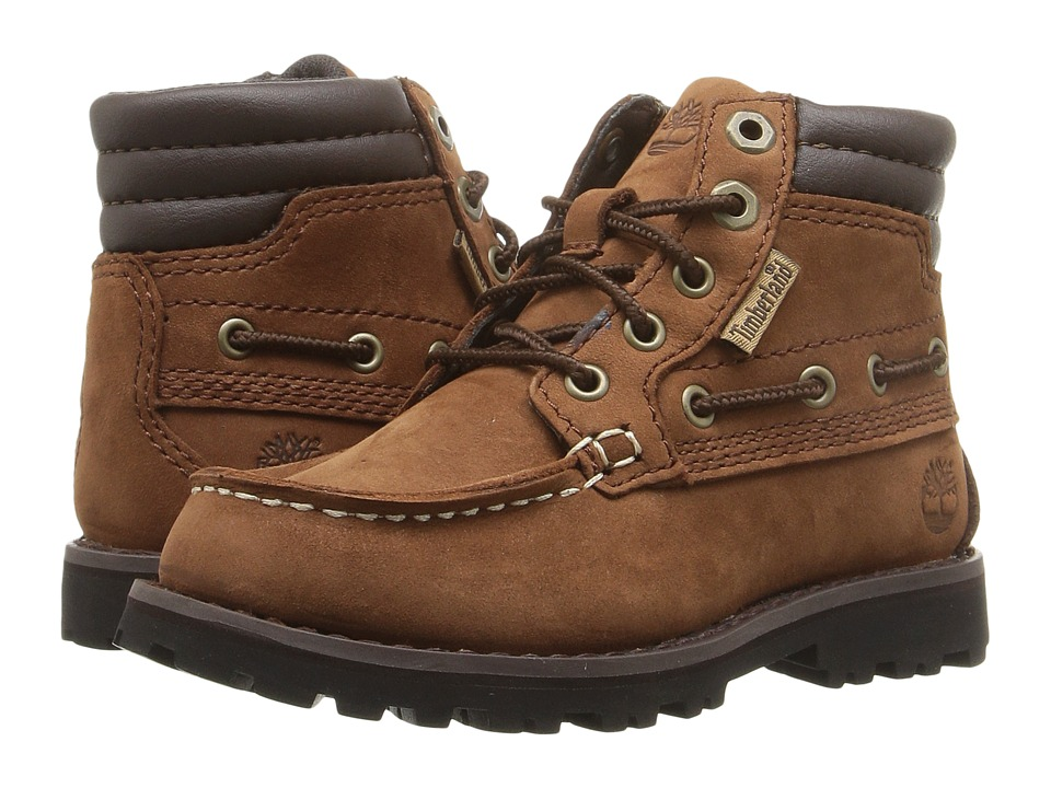 Timberland Kids - Oakwell Boot (Toddler/Little Kid) (Medium Brown Nubuck) Kid's Shoes
