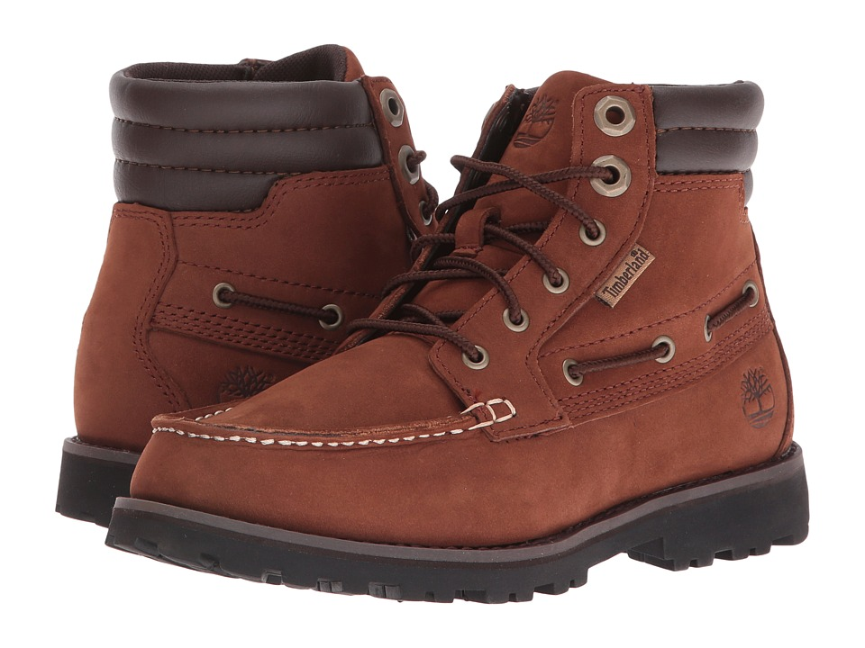 Timberland Kids - Oakwell Boot (Little Kid) (Medium Brown Nubuck) Kid's Shoes
