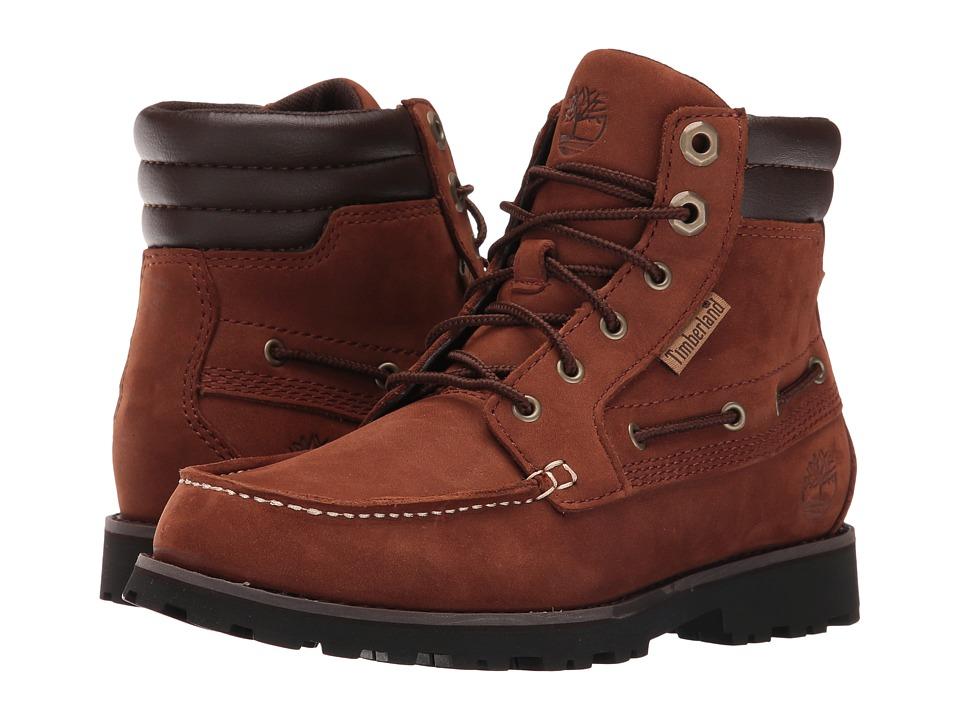 Timberland Kids - Oakwell Boot (Big kid) (Medium Brown Nubuck) Kid's Shoes