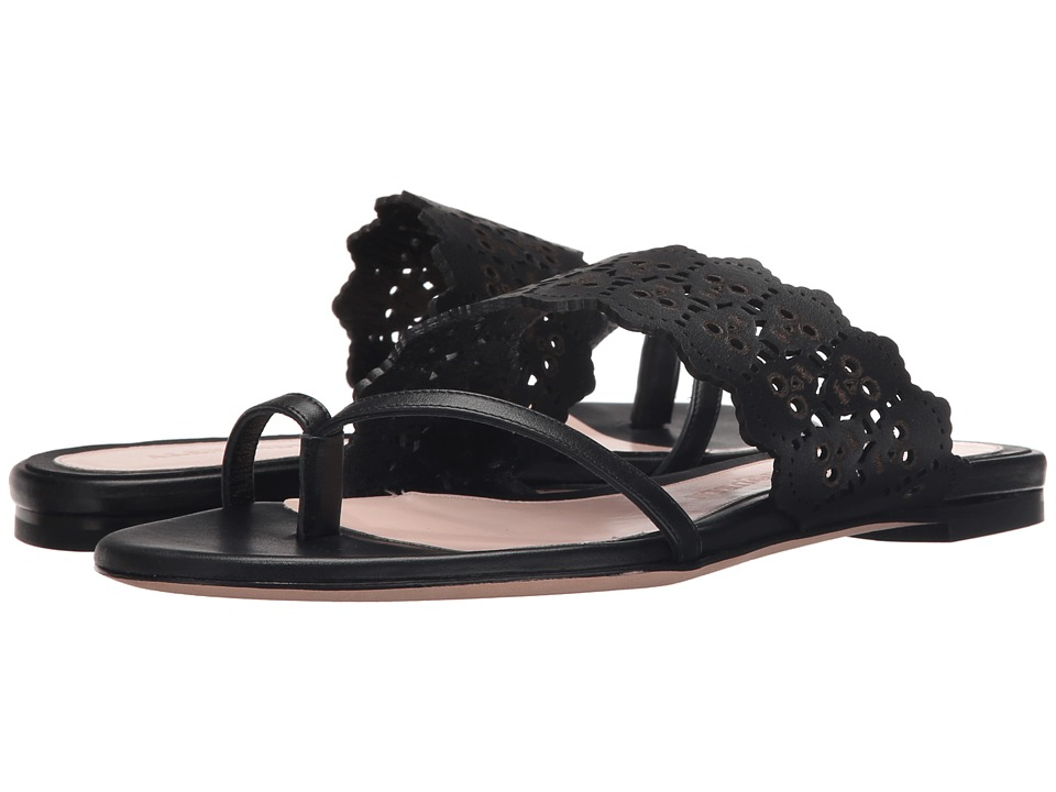 Alexander McQueen - Sandal Pelle S.Cuoio (Black/Black) Women's Sandals