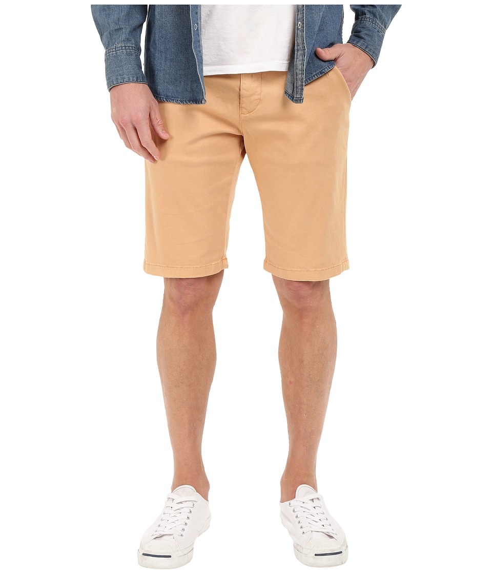Mavi Jeans - Jacob Twill Shorts in Burnt Orange Twill (Burnt Orange Twill) Men's Shorts