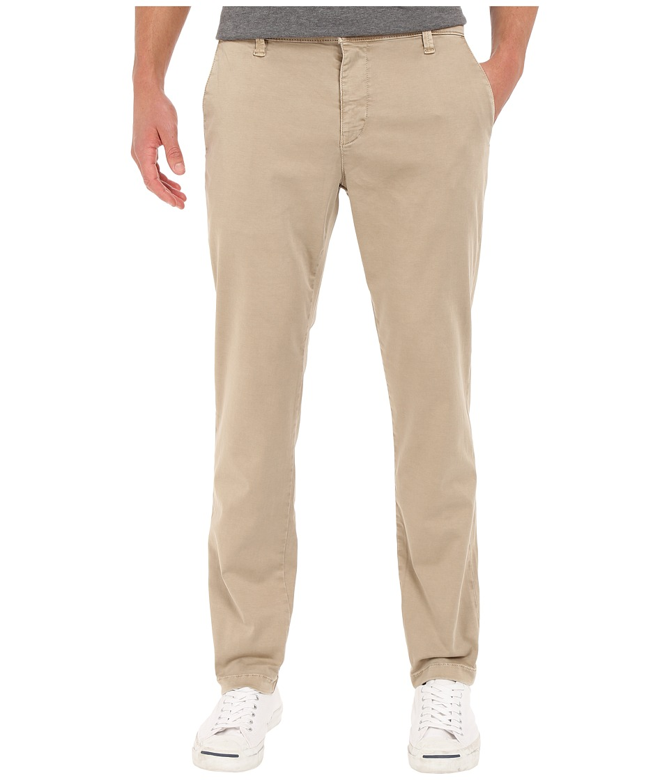 Mavi Jeans - Edward Mid-Rise Twill Trousers in Sand Twill (Sand Twill) Men's Casual Pants