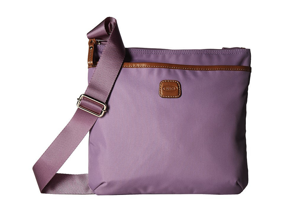Bric's Milano - X-Bag Urban Envelope (Violet) Cross Body Handbags