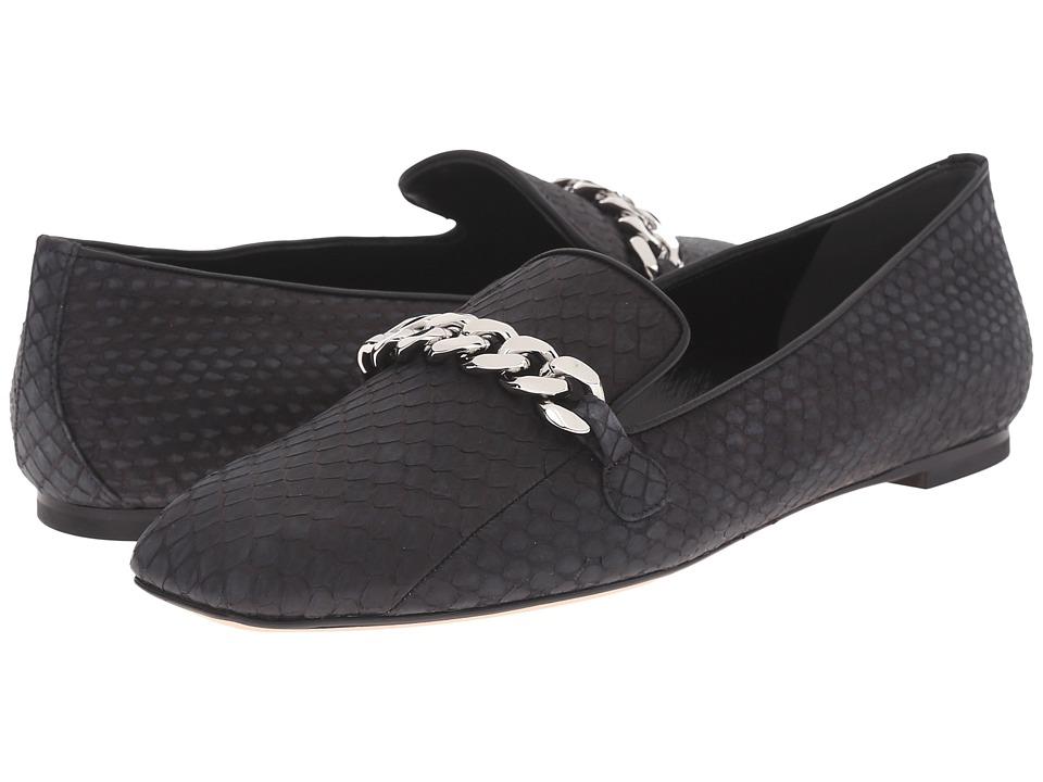 Alexander McQueen - Scarpa Pelle S.Cuoio (Black/Black) Women's Flat Shoes