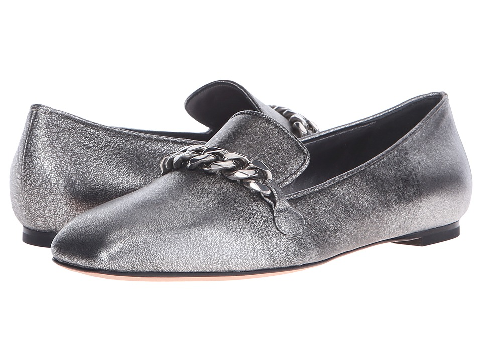 Alexander McQueen Scarpa Pelle S.Cuoio (Silver) Women