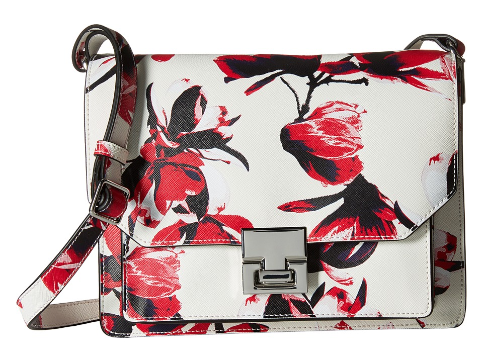 Ivanka Trump - Hopewell Shoulder Flap (Petal Painted Petal Non Leather) Cross Body Handbags