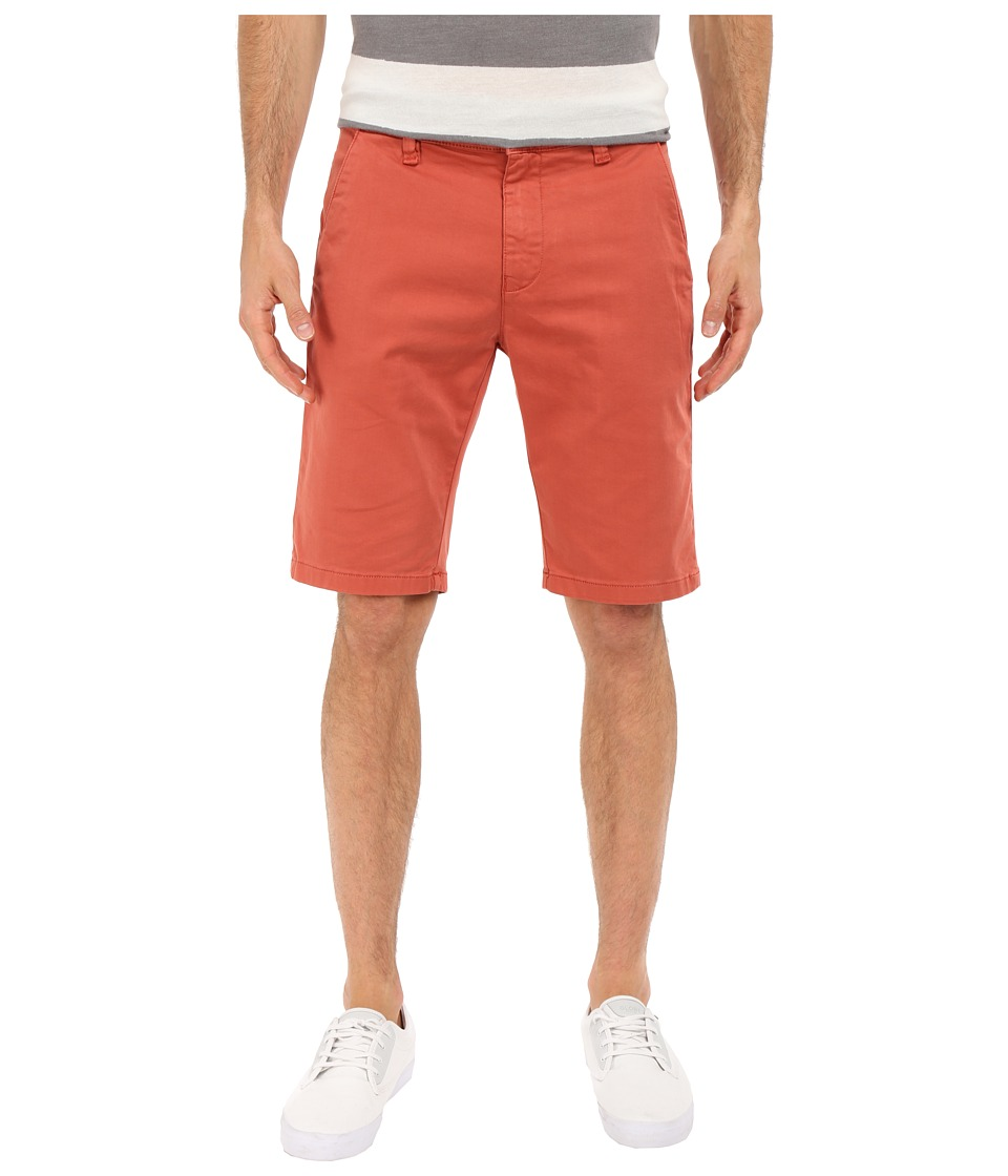 Mavi Jeans - Jacob Twill Shorts in Marsala Twill (Marsala Twill) Men's Shorts