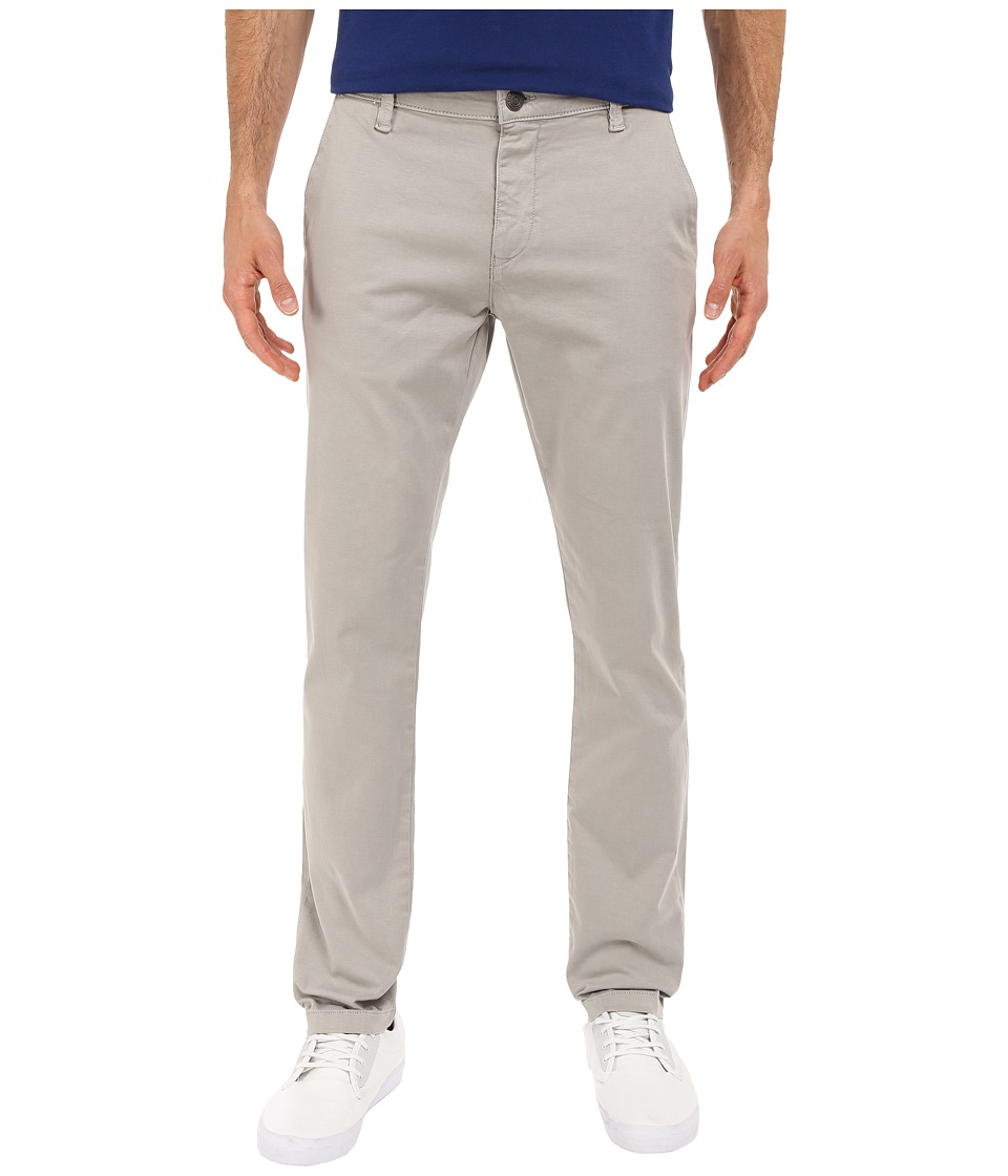 Mavi Jeans - Johnny Slim Twill Trousers in Grey Twill (Grey Twill) Men's Casual Pants