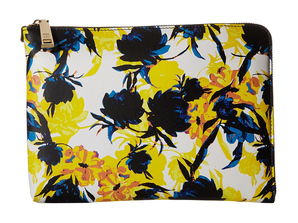 Ivanka Trump - Rio Tech Sleeve (Moody Floral Moody Floral Non Leather) Clutch Handbags