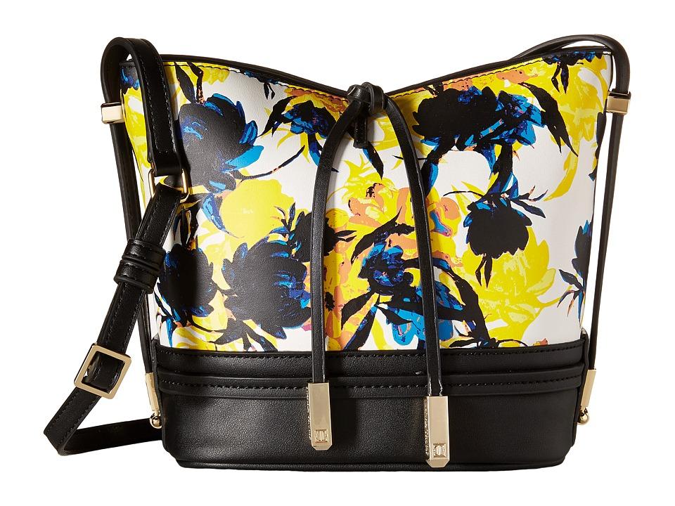 Ivanka Trump - Briarcliff Small Convertible Bucket (Moody Floral Moody Floral Non Leather) Convertible Handbags