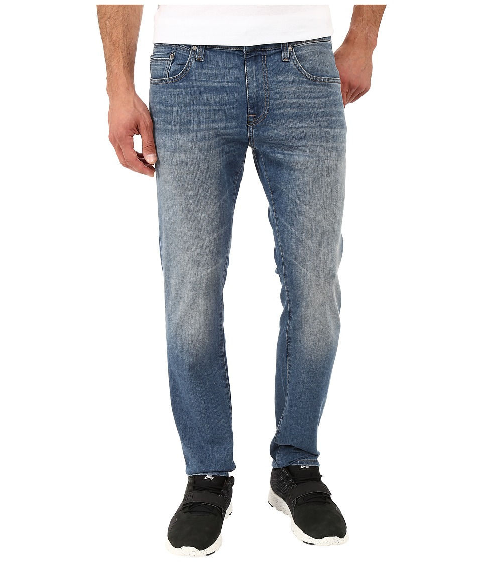 Mavi Jeans - James Slim Fit in Mid Shaded Williamsburg (Mid Shaded Williamsburg) Men's Jeans