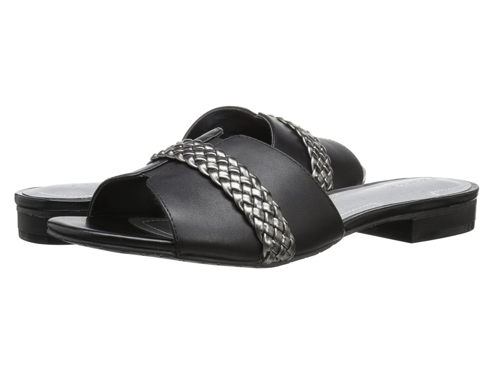 Tahari - Amorie (Black/Pewter Calf/Metallic) Women's Shoes