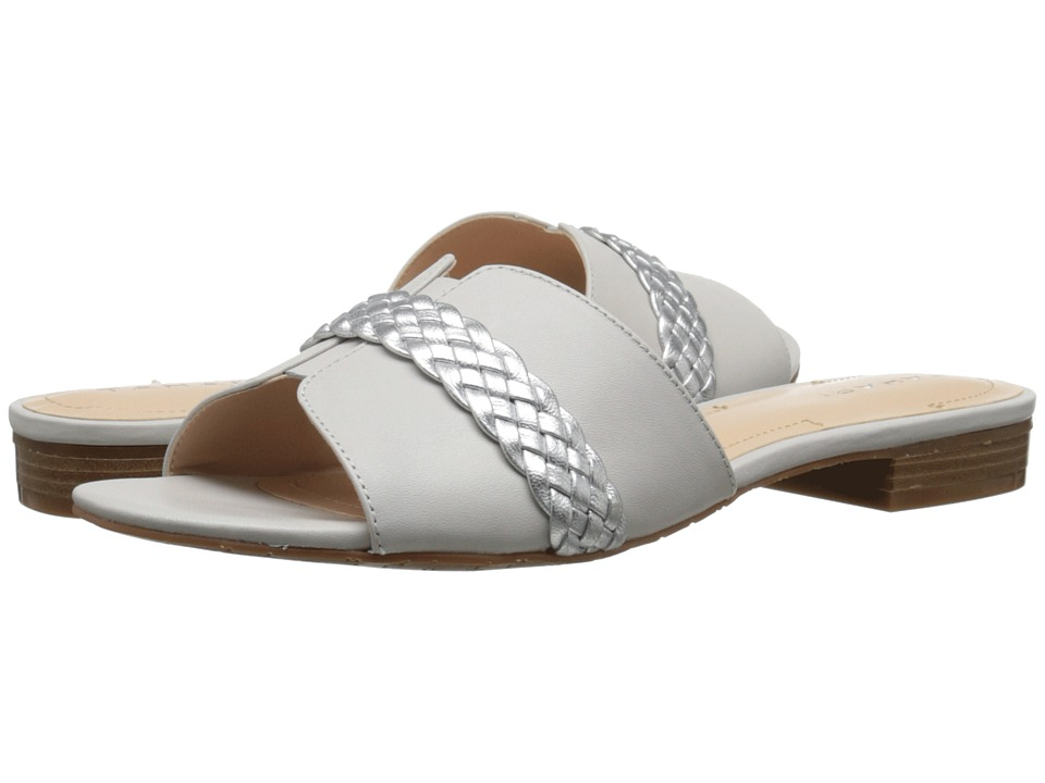 Tahari - Amorie (White/Silver Calf/Metallic) Women's Shoes