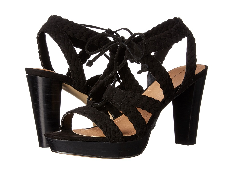 Tahari - Denny (Black Suede) Women's Shoes