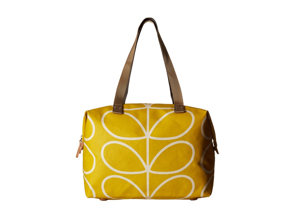 Orla Kiely - Giant Linear Stem Zip Shopper (Dandelion) Tote Handbags