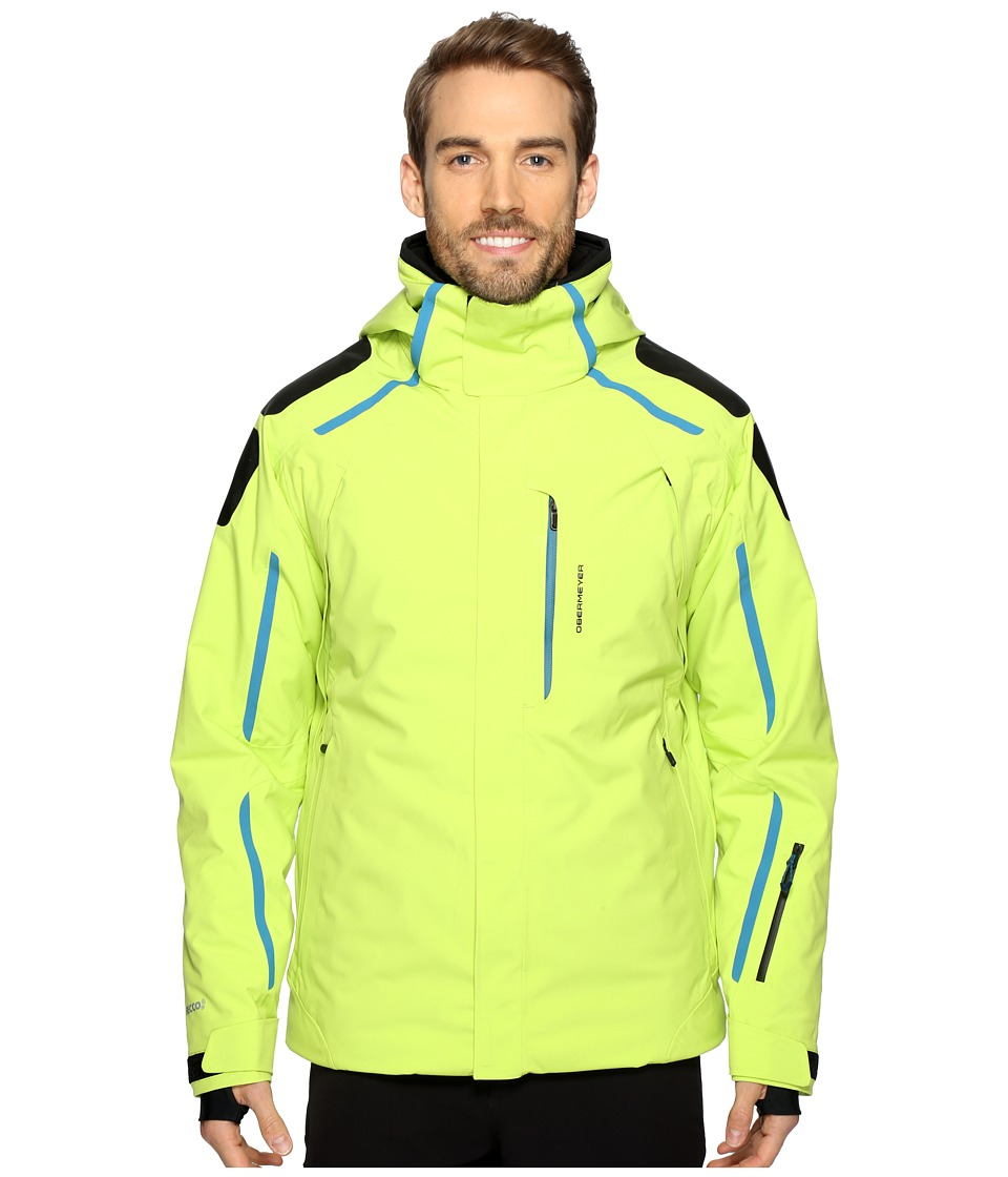 Obermeyer - Charger Jacket (Screamin' Green) Men's Coat