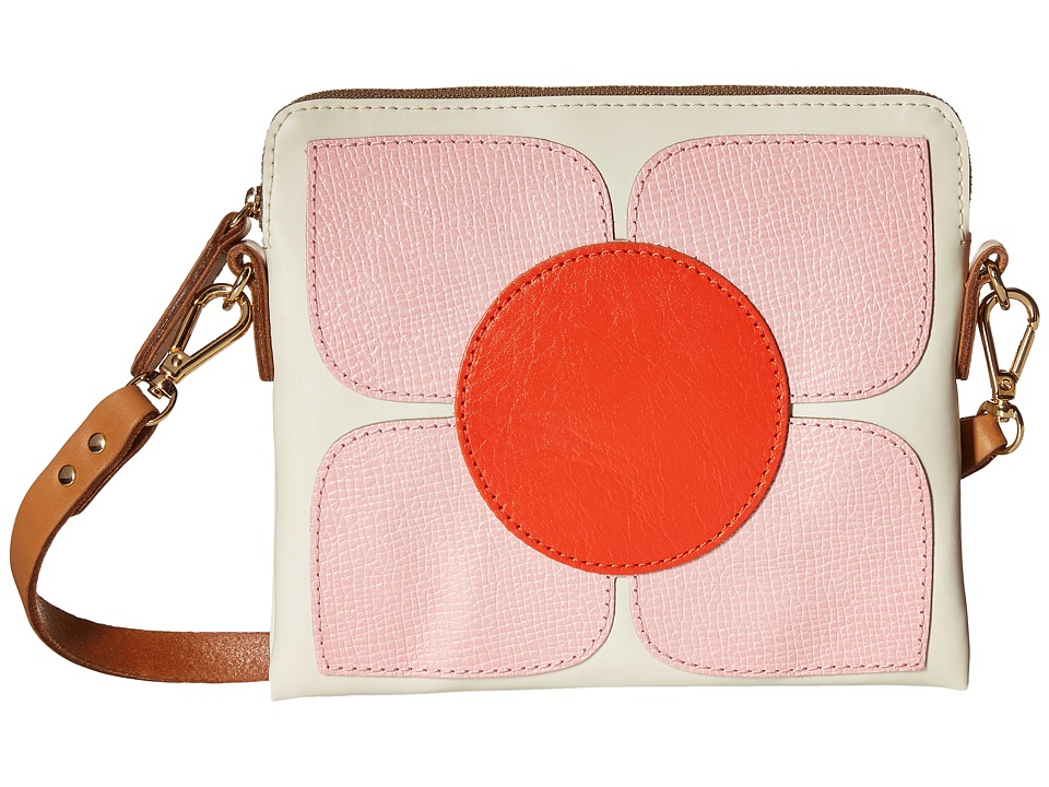 Orla Kiely - Square Flower Applique Square Poppy Bag (Cream) Bags