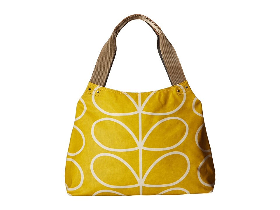 Orla Kiely - Giant Linear Stem Zip Shoulder (Dandelion) Shoulder Handbags