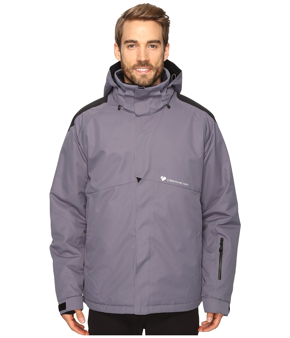 Obermeyer - Foundation Jacket (Graphite) Men's Coat