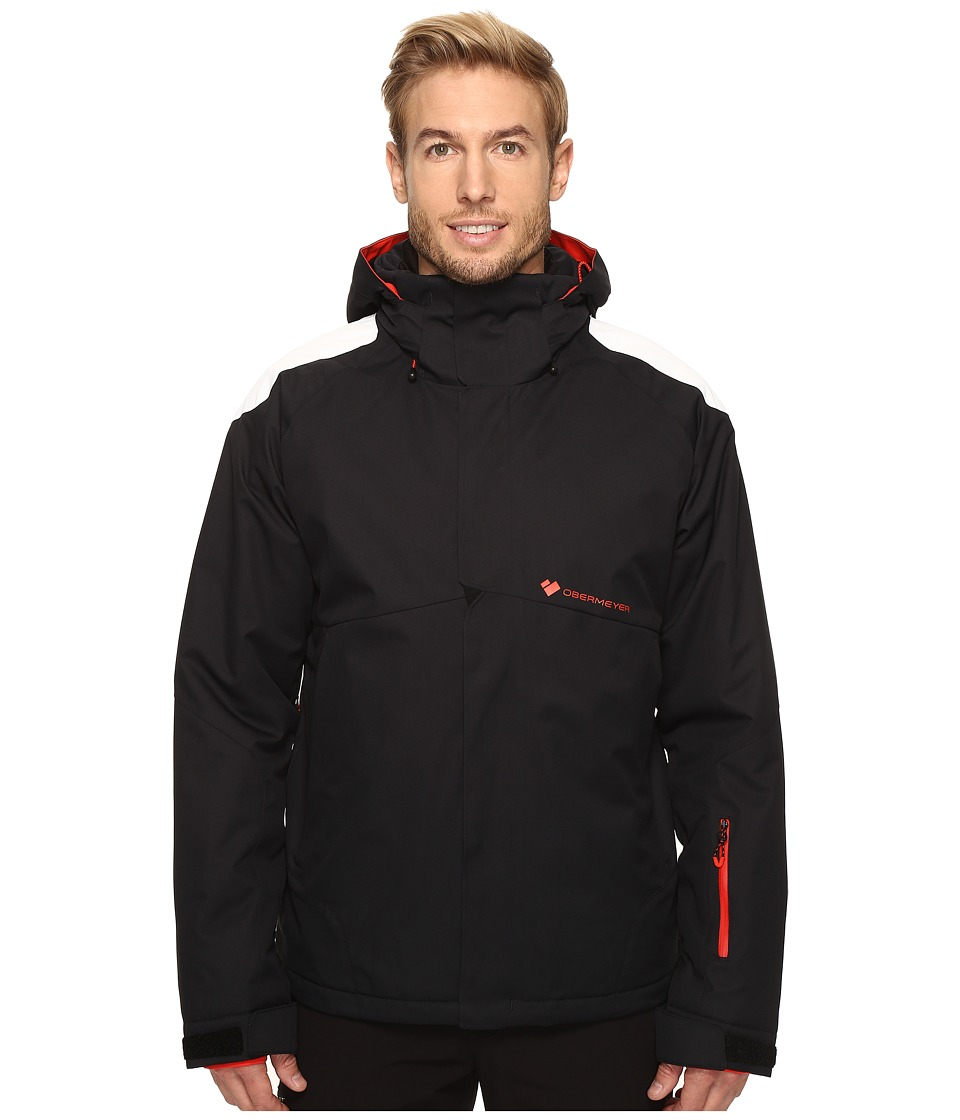 Obermeyer - Foundation Jacket (Black) Men's Coat