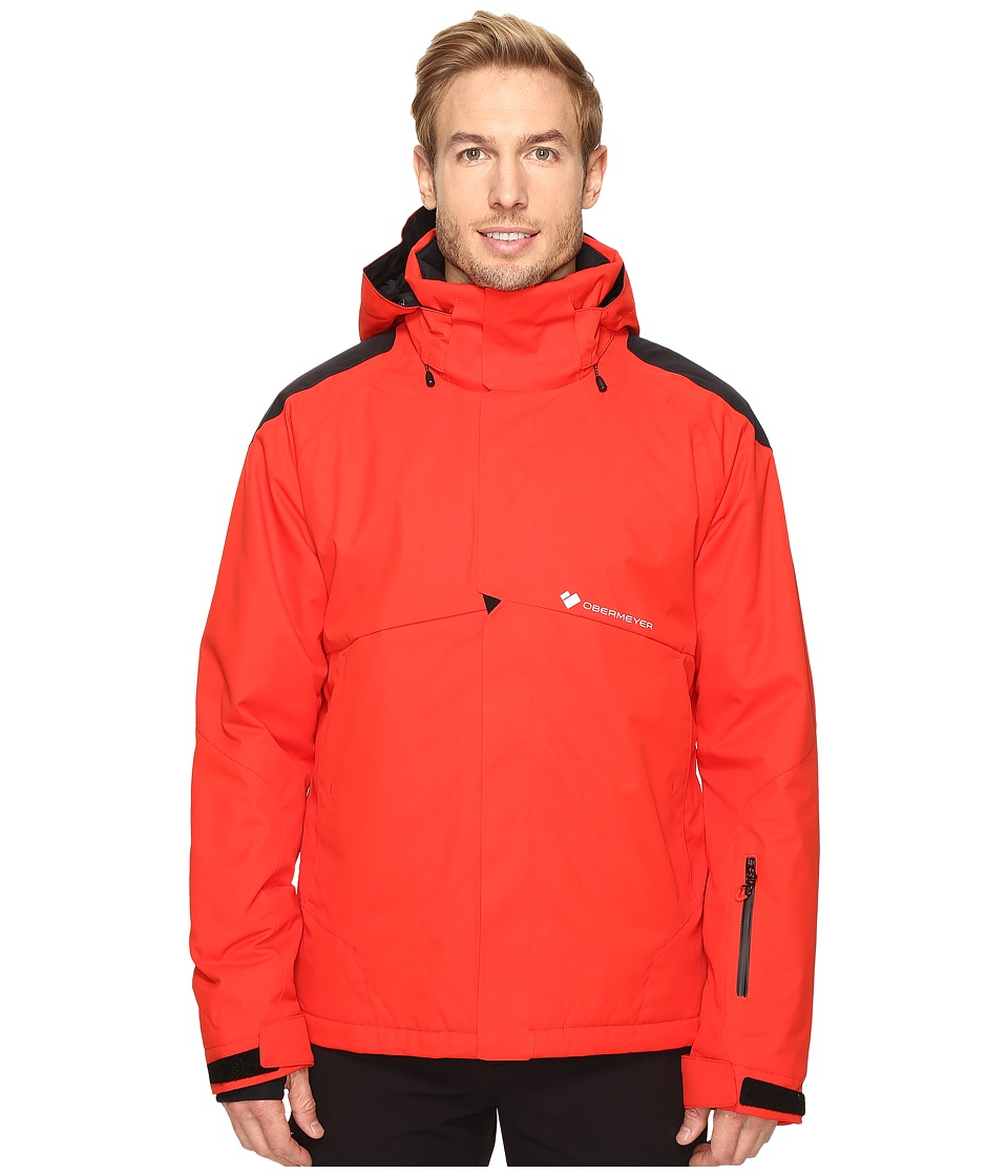 Obermeyer - Foundation Jacket (Red) Men's Coat