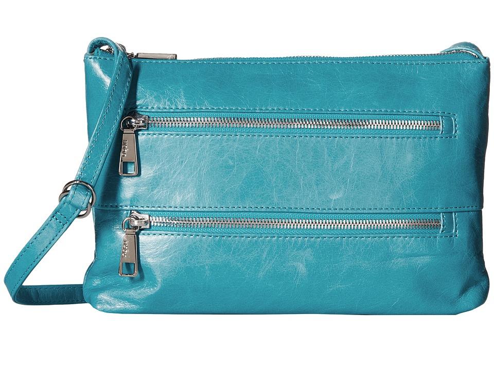 Hobo - Mara (Turquoise) Cross Body Handbags