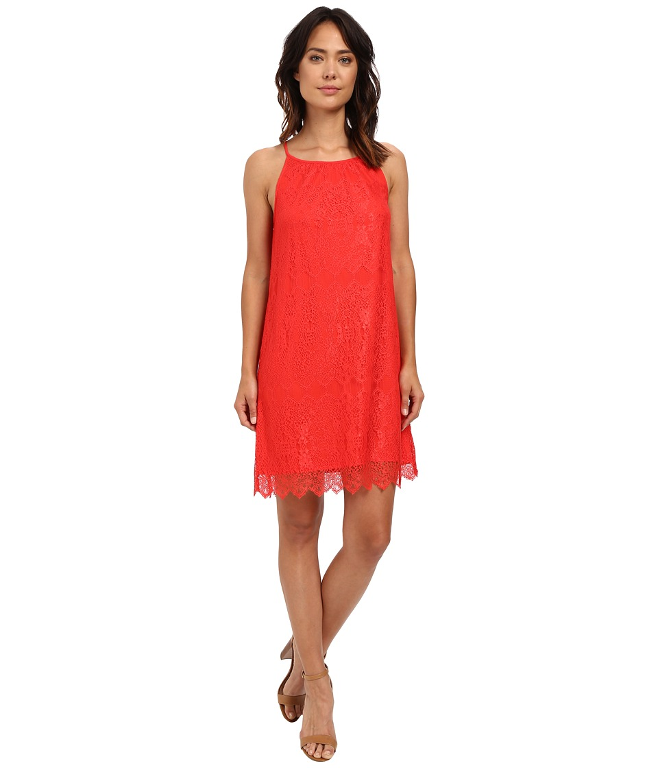 kensie Dainty Lace Dress KS6K7668 (Salsa) Women