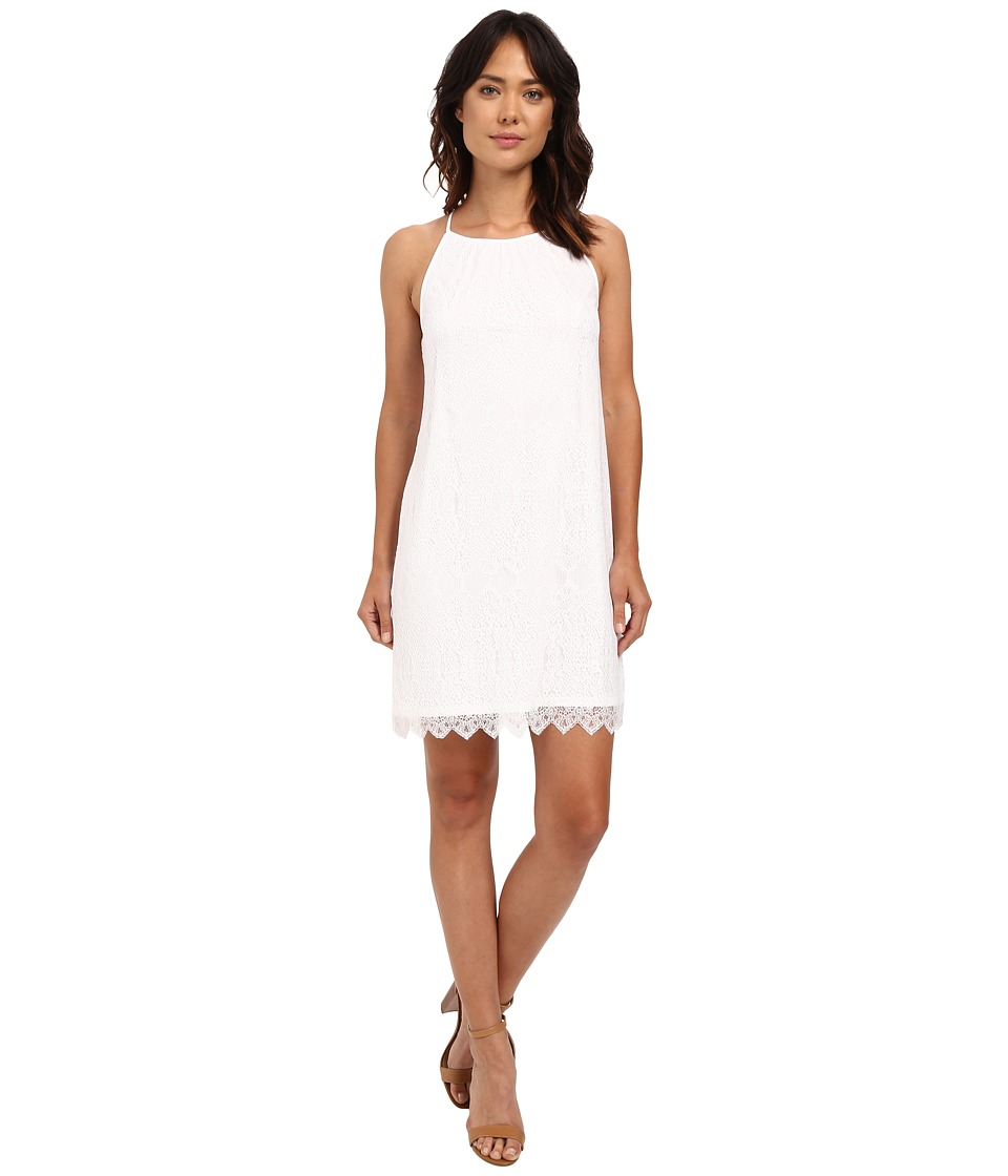 kensie Dainty Lace Dress KS6K7668 (White) Women