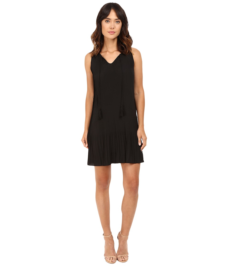 kensie Thick Soft Crepe Dress KS7K7676 (Black) Women